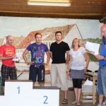 Das Siegerteam des SCL bei den Dorfmeisterschaften 2011