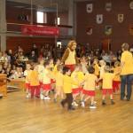 Kindergarten-Turngruppe