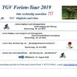 Ferientouren 2019